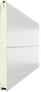 Сендвич-панель DoorHan (ДорХан) С центральным пазом