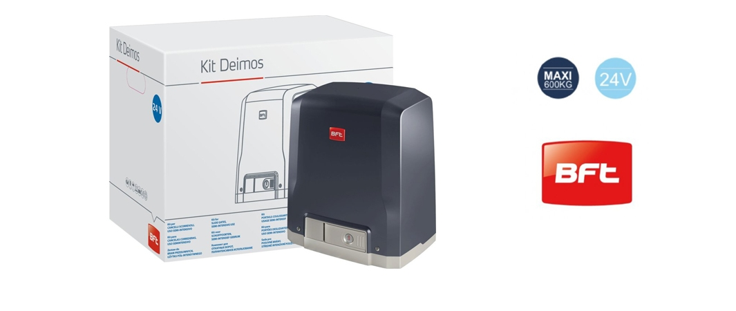 Электромеханический привод DEIMOS BT 600 со встроенным блоком управления и 2-х канальным радиоприемником