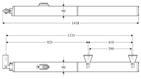 Гидравлические приводы BFT серии P7 WINTER