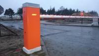 Автоматический шлагбаум Nice (Италия) серии BAR для автоматизации проездов с интенсивным движением шириной от 3 до 9 метров