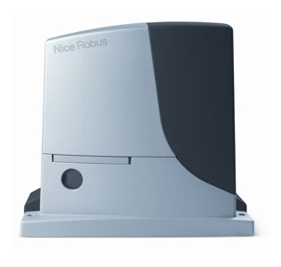 Привод RB 600 для автоматизации откатных ворот массой до 600 кг, с технологией Nice BlueBUS