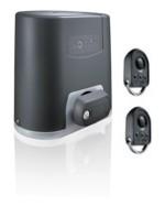 Комплект электропривода ELIXO 800 230 В RTS с двумя радиопультами (брелоками) управления KeyGo 4 RTS, для откатных ворот весом до 800 кг и длиной до 10 метров